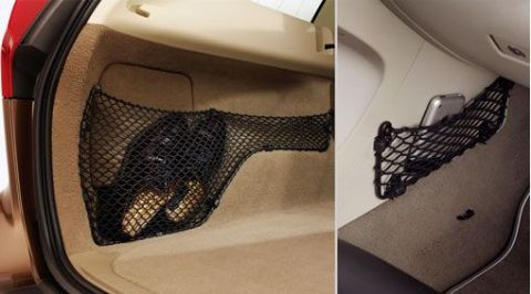 Net pockets – passenger compartment and load compartment